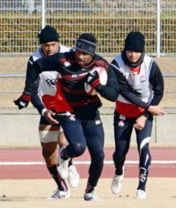 ラグビー7人制男子 日本代表候補が九州合宿 副島と津岡、五輪へアピール