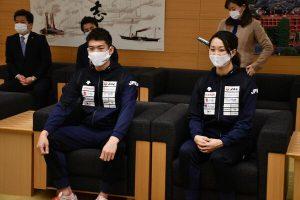 フェンシング日本代表が佐賀県で合宿  3月W杯前に