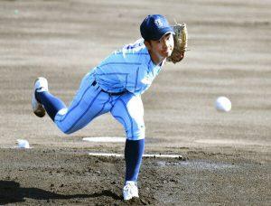 東明館力負け、初戦敗退 具志川商にわずか3安打 九州地区高校野球大会