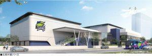 <バレーV1女子>久光スプリングスの新練習施設、9月に着工