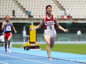 西坂(鳥栖工)自己新V 男子3000m障害 高校総体陸上北九州予選